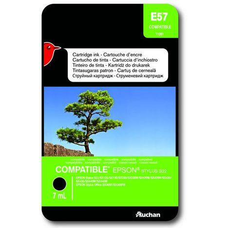 AUCHAN Cartouche GENERIQUE Epson T128140  - 1 Cartouche Noire