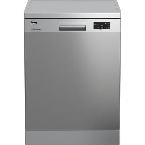 BEKO Lave-vaisselle pose libre UDFN15310X, 13 couverts, 60 cm, 47 dB, 5 Programmes