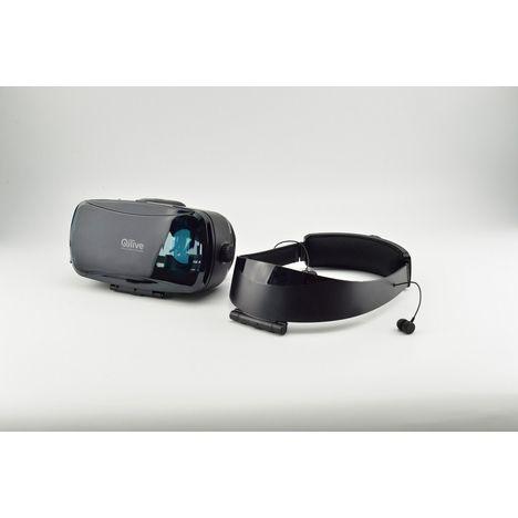 QILIVE Casque Headset Boost 2- Noir - Réalité virtuelle