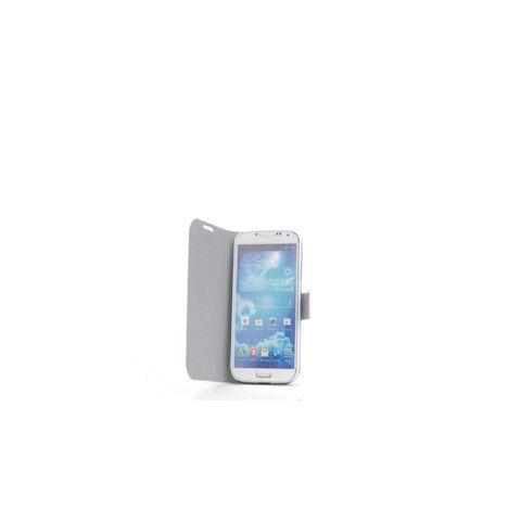 AUCHAN Etui Folio Blanc Galaxy S4