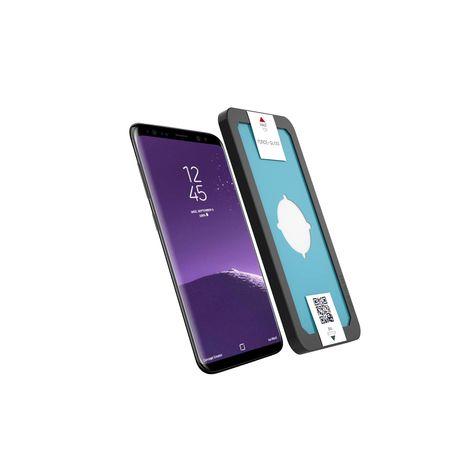 FORCEGLASS Protection d'écran en verre trempé pour Galaxy Note 8 - Transparent