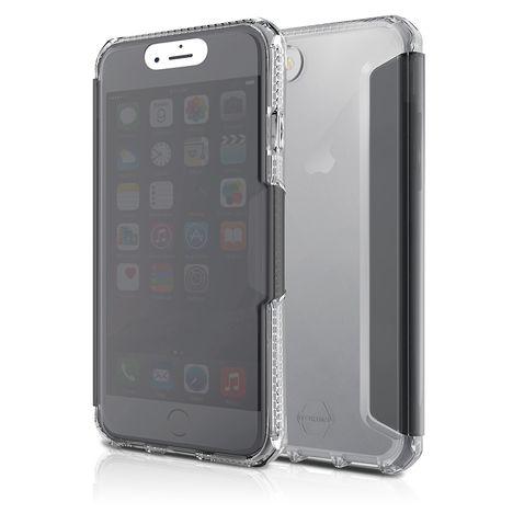 ITSKINS Etui Folio Spectra Vision pour iphone iP6/6S - Gris Transparent