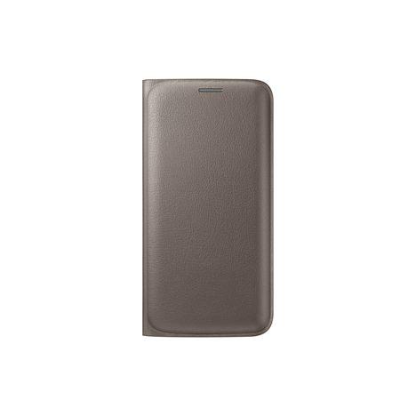 SAMSUNG Etui folio pour Galaxy S7 EDGE - Doré