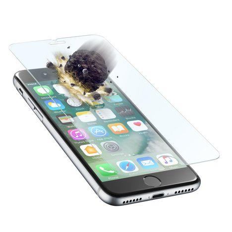 CELLULARLINE Protection d'écran en verre trempé ultra renforcé et ultra fin pour iPhone 7