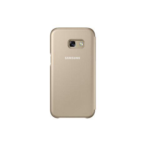 SAMSUNG Etui folio pour Galaxy A3 2017 - Or