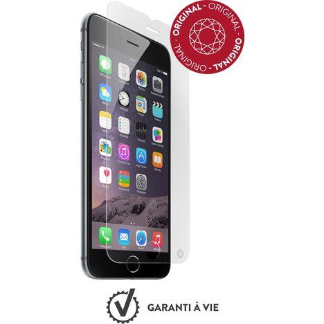 FORCEGLASS Protection d'écran en verre trempé pour iPhone 6/6S