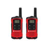 MOTOROLA Talkie-Walkie - TLKR-T40 - Rouge et noir