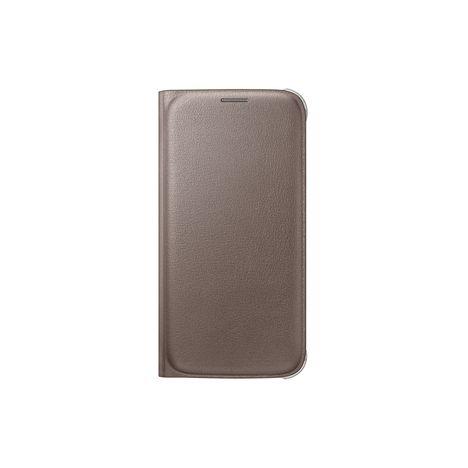 SAMSUNG Etui folio pour Galaxy S7 - Doré