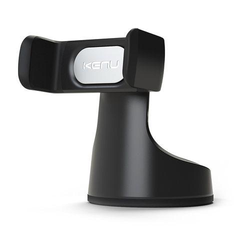 KENU Support voiture ventouse pour Smartphone - AIRBASE PRO - Noir