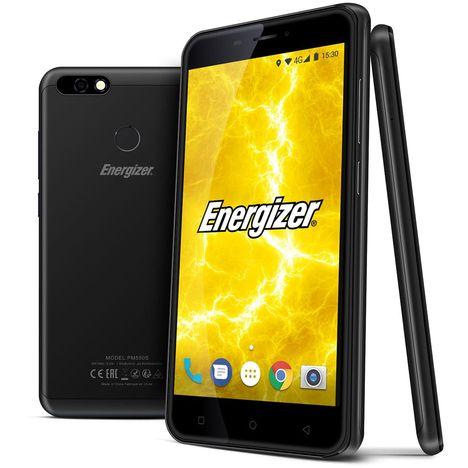 ENERGIZER Smartphone Power Max P550S - 16 Go - 5,5 pouces - Noir