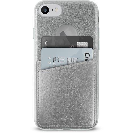 PURO Coque pour Iphone 6/6S/7/7S - Argent