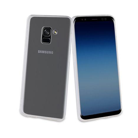 Coque pour Galaxy A8 2018 - Transparent QILIVE pas cher à prix Auchan