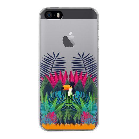 BIGBEN Coque pour iPhone 5/5S/SE BORA BORA