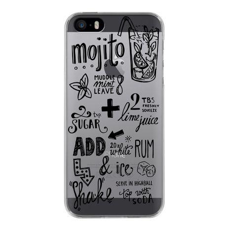 BIGBEN Coque pour iPhone 5/5S/5E MOJITO