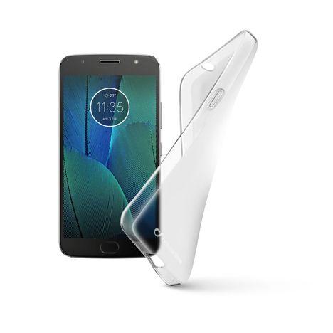 CELLULAR Coque pour Motorola G5S - Transparent