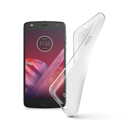 CELLULAR Coque pour Motorola Z2 Play - Transparent
