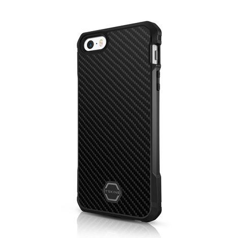 ITSKINS Coque Atom DLX pour iphone iP5/5S - ITSKINS COQ NR ATCHOC IP5/5S - Noir