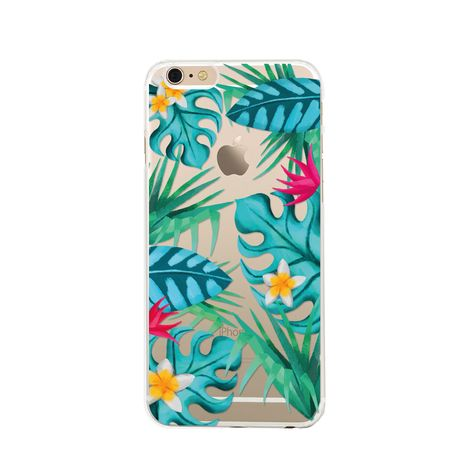 BIGBEN Coque pour iPhone 6/S TROPICAL
