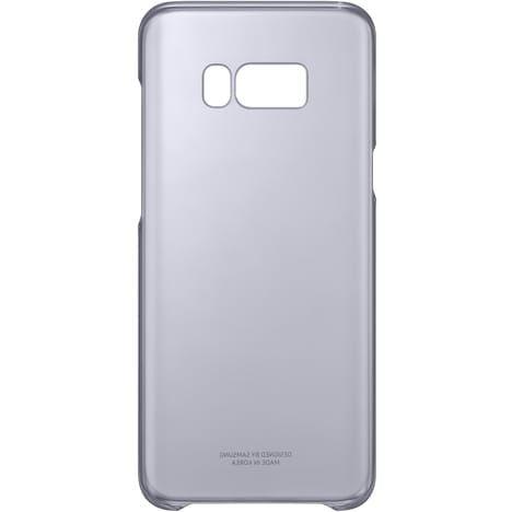 SAMSUNG Coque rigide EF-QG950CV  pour Galaxy S8 + - Lavande transparent