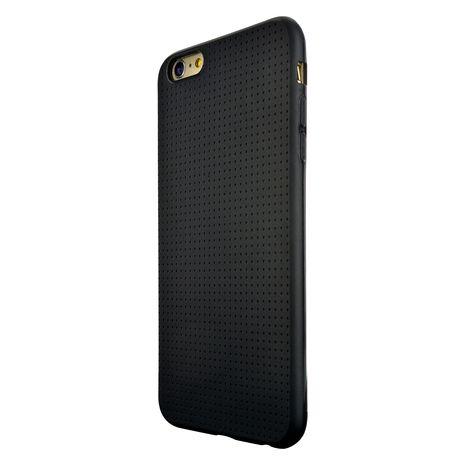 Coque pour iPhone 6 Plus   6S Plus - Noir BIGBEN pas cher à prix Auchan 54c07075b3b2