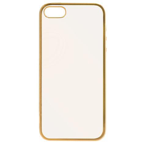 BBC Coque pour iPhone 5 / 5S - Or et transparent