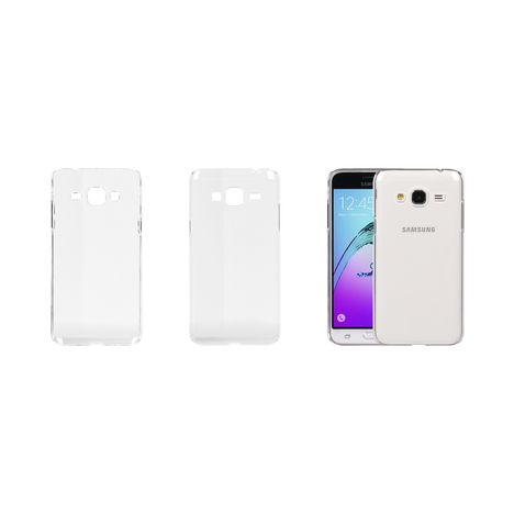 QILIVE Coque Crystal pour Galaxy J1 2016 - Transparent