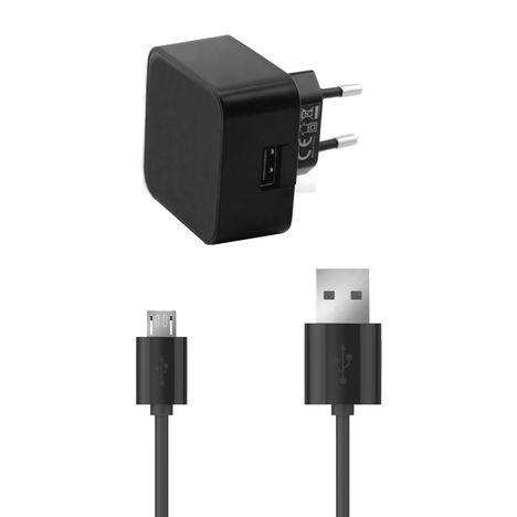QILIVE CHARGEUR & BATTERIE USB QILIVE + CABLE NOIR SB1A