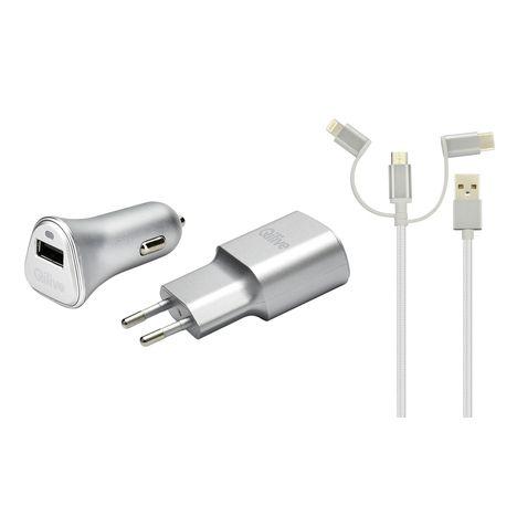 QILIVE Chargeur pour téléphone - Pack 3en1