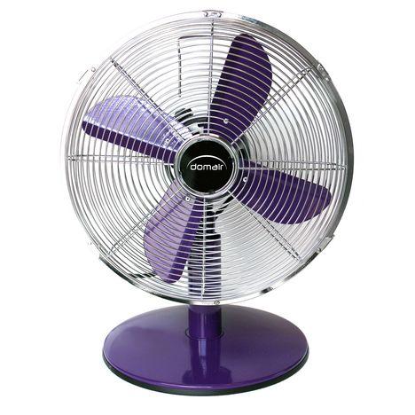 DOMAIR Ventilateur TM30 violet