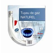 AUCHAN Tuyau de gaz naturel flexible à visser