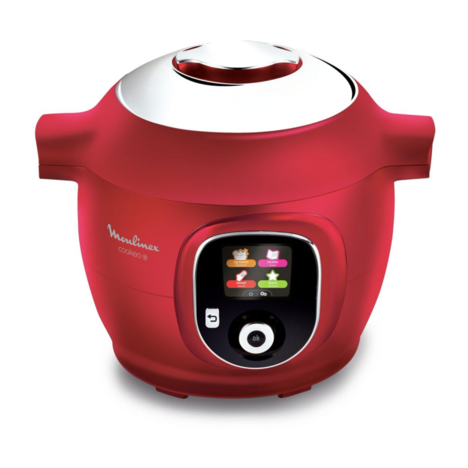 MOULINEX Mijoteur Cookeo CE851500 multicuiseur intelligent rouge