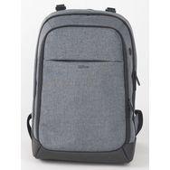 sac dos pour ordinateur portable 15 16 gris qilive. Black Bedroom Furniture Sets. Home Design Ideas