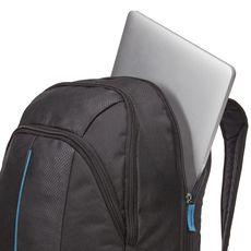CASE LOGIC Sac à dos PREVAILER pour ordinateurs portables et tablettes - Noir