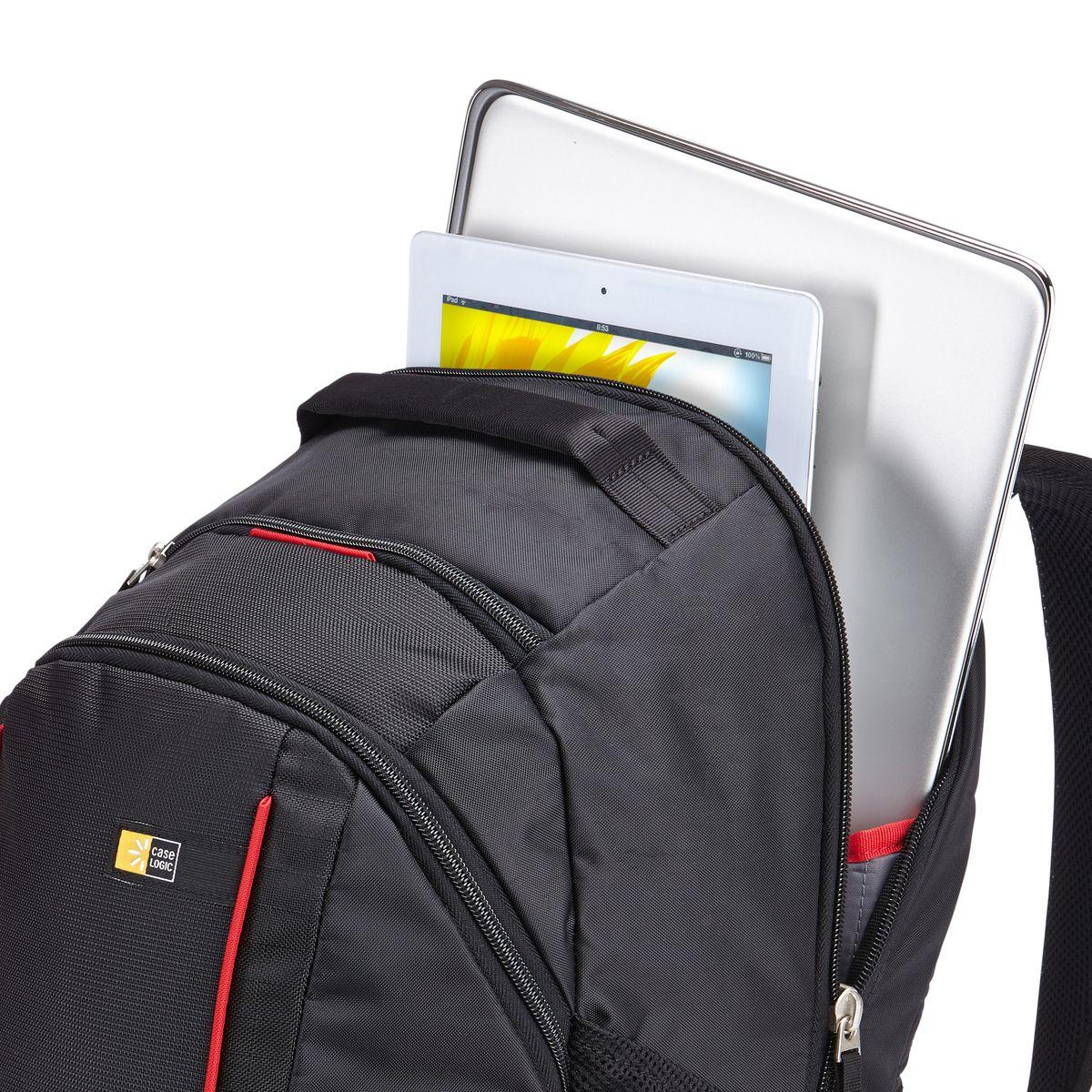 CASE LOGIC Sac à dos pour ordinateur portable jusqu'à 15,6