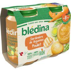 Blédina BLEDINA Petit pot jardinière de légumes et poulet dès 8 mois