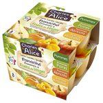 Purée fruits pomme/fruits du verger sans sucre ajouté CHARLES & ALICE,8x100g