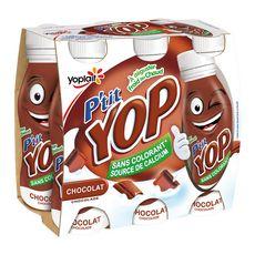 P'tit Yop chocolat 6x180g