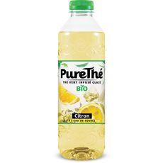 PureThé thé infusé glacé citron bio 1l