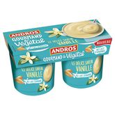 Andros délice végétal vanille 2x120g