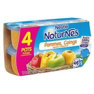 Nestlé Naturnes pomme coing 4x130g dès 4 mois