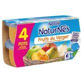 Nestlé fruits du verger 4x130g