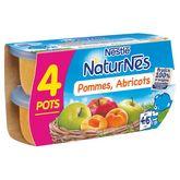 Nestlé Nestlé Naturnes pomme abricot 2x130g dès 4 mois