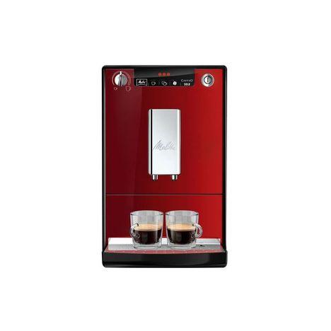 MELITTA Expresso broyeur E950-104 Caffeo Solo Rouge Chili 15 Bars