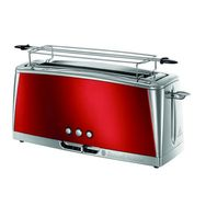 RUSSELLHOB Grille pain Luna Rouge 23250-56, Rouge et Inox