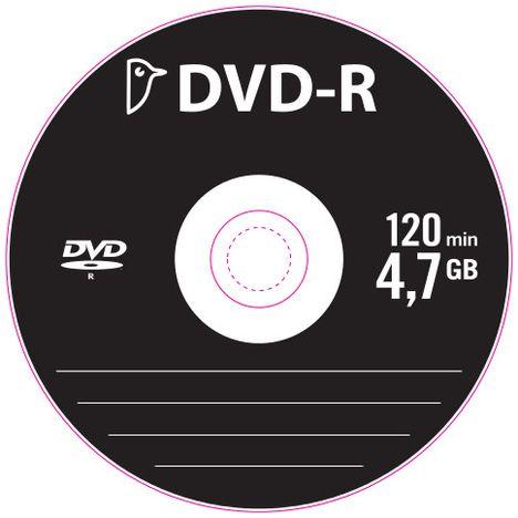 AUCHAN 10 DVD-R 4,7GB 16XSPI