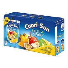 CAPRI-SUN Boisson au jus de fruit multivitaminé poches 10x20cl