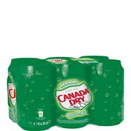 Canada Dry boîtes 6X33cl