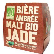 Jade bière bio ambrée 4,5° 6x25cl