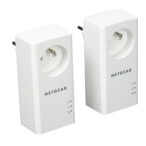 NETGEAR Prise CPL 1000 + prise supplémentaire PLP1000