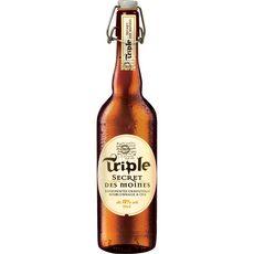 SECRET DES MOINES Bière blonde triple 8% 75cl